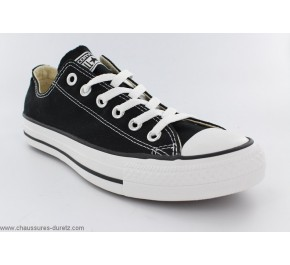 Baskets mixtes Converse - ALL STAR HI Toile Noir