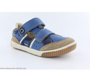 Chaussures garçon Noël ZIGUE Bleu