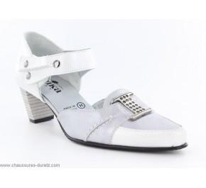 Sandales femme Artika - KUMEL Blanc / Argent