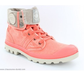 Bottines fille Palladium BAGGY KID Corail