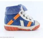 Bottines garcon Babybotte ARTISTE1 Bleu