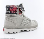 Bottines Palladium BAGGY KID FLAG Gris