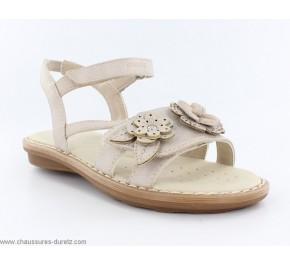 Sandales fillettes Géox INNÉ Beige