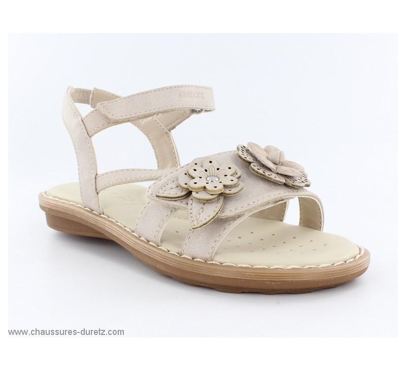 sandales fillettes g ox inn beige sandales g ox. Black Bedroom Furniture Sets. Home Design Ideas