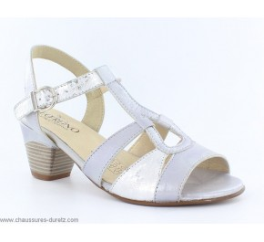 Sandales femme Géo Reino FINNOIS Silver