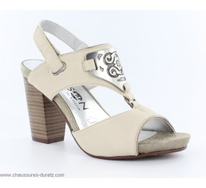 Sandales femme Madison ROBINE Ivoire