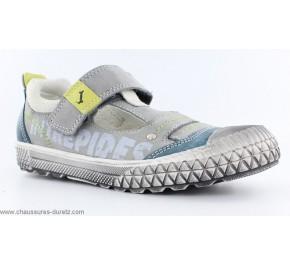 Chaussures Garçon Babybotte KAKAO Gris / Anis