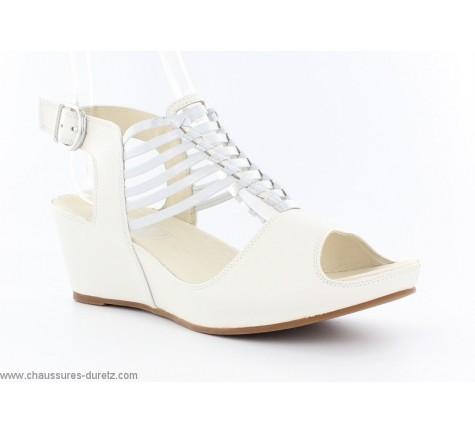 Sandales femme Mam'Zelle DYLAN Blanc
