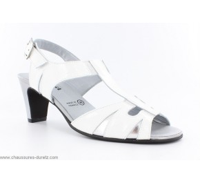 Sandales femme Artika KUMEL Blanc / Argent