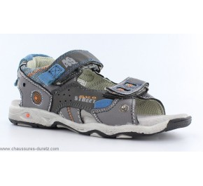Sandales garcon Bopy CAMIPA Gris