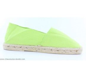 Espadrilles Françaises Mixtes Sélection DURETZ Espadrilles Vert Anis