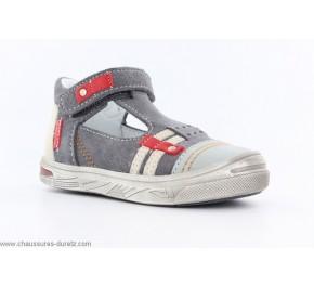Chaussures garçon Bopy BARANE Gris