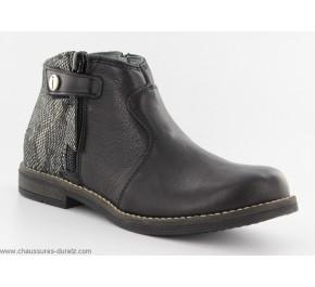 Boots filles Babybotte KENZA Noir