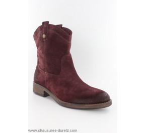 Boots femme Tamaris LOUP Bordeaux