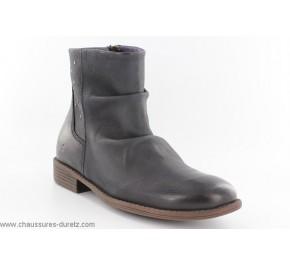 Boots filles Kickers ROBBER Noir