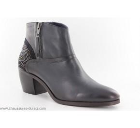 Boots femme Dorking HUTTE 6544 Bleu Marine