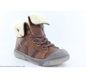 Bottines garcon Babybotte ARTICHAUFL Marron...