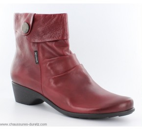 Boots femme Méphisto RACHELA Rouge