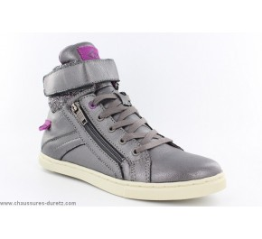 Bottines filles Palladium VELEDA GOT Silver