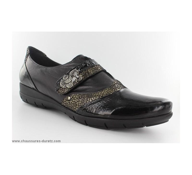 cb66fc2fd2f75 Chaussures femme Géo Reino - CANCEL Noir - Pointures 41 au 45 Géo Reino