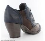Chaussures Mustang CLEF Bleu / Marron