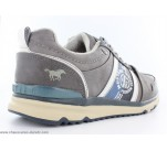 Baskets Mustang CLAC Gris