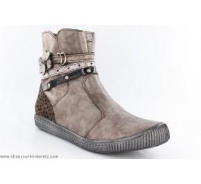 Boots filles Babybotte KARELE Noisette