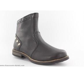 Boots fille Babybotte KAPUCINE Noir