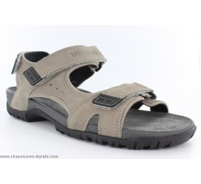Sandales homme Mephisto BRICE Light Grey