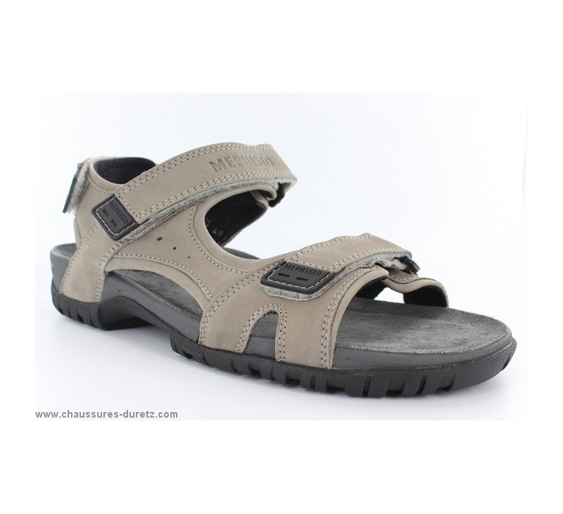 2f4d048bc62cde Sandales Mephisto BRICE Light Grey | Sandales & Nu-pieds Mephisto ...