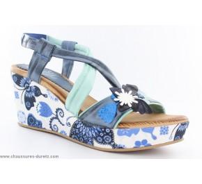 Sandales femme Marila MISE Bleu