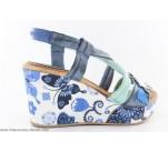 Sandales MARILA MISE Bleu