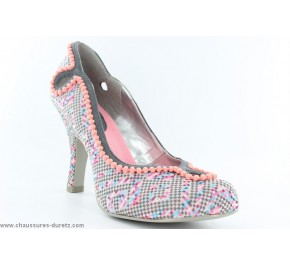 Escarpins femme Ruby Shoo MILEY Gris / Rose