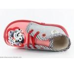 Pantoufles Babybotte MAMOUT Corail / Dalmatien