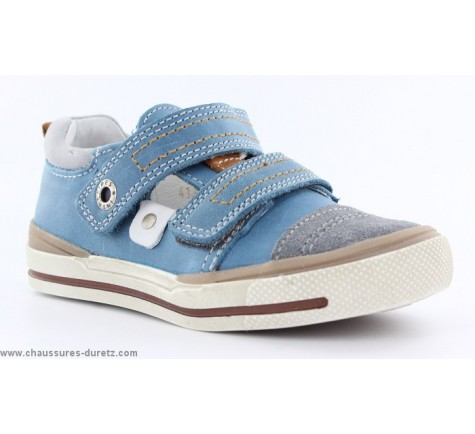 Chaussures garçon Babybotte KOLEGE Jeans