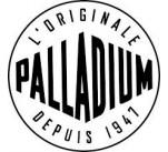 Baskets toile Palladium PAMPA HI ZIP Bleu