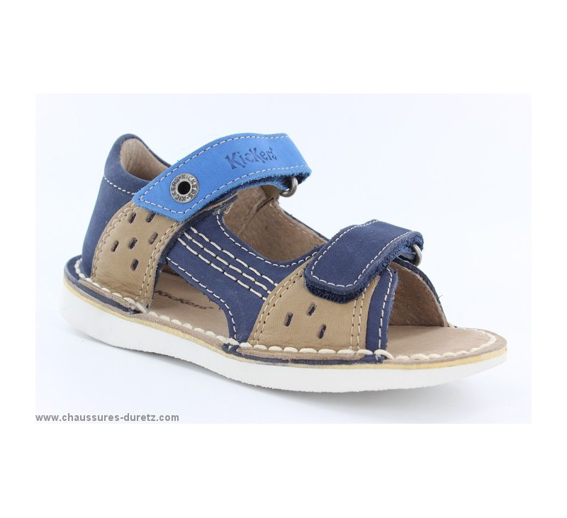 sandales gar ons kickers wasabi bis marine camel sandales kickers. Black Bedroom Furniture Sets. Home Design Ideas