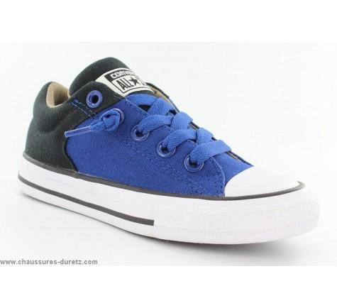 Converse CTAS HIGH STREET Bleu / Noir