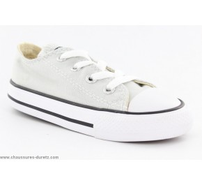 Baskets mixtes Converse - ALL STAR HI Toile Blanc