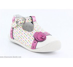Chaussures filles Babybotte - PIA Blanc