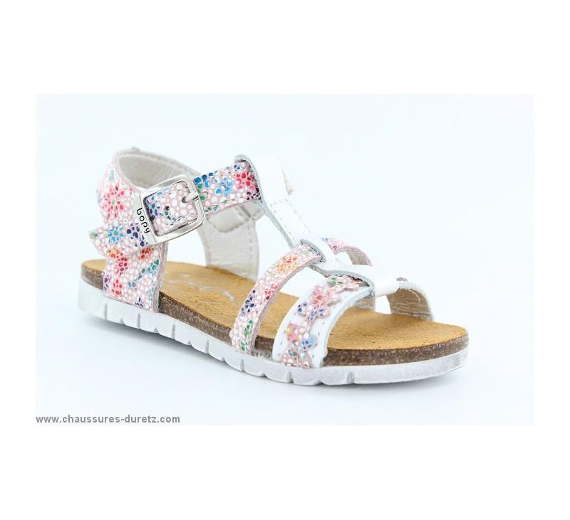 Edalia Blanc Sandales Pour Bopy Fillette Enfant qARAnx4Sw
