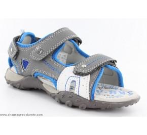 Sandales garcon Bopy TURGICO Gris