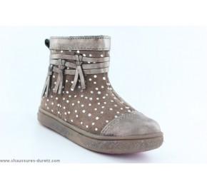 Boots fille Babybotte AMBALABA Taupe