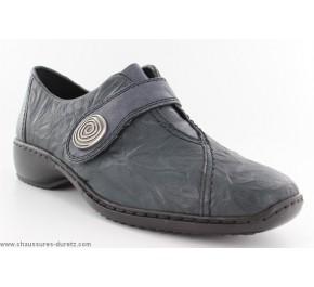 Chaussures femme Rieker - GILLES Bordeaux L3870-35