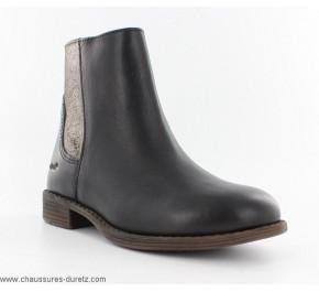 Boots filles Kickers RUSTY Noir