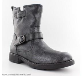 Boots fille Géox FRAPPE Noir
