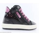 Baskets Geox FUMEE Noir / Violet