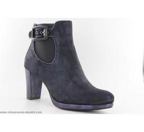 Boots femme Mam'Zelle VICKY Bleu