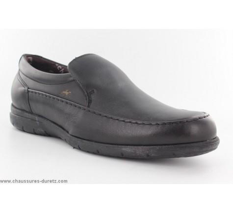 586398fbca45 Mocassins Fluchos GAIN 8781 Noir   Chaussures Détente Fluchos pour Homme