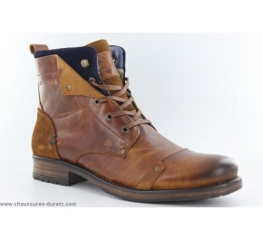 Bottines hommes Redskins YEDES Cognac